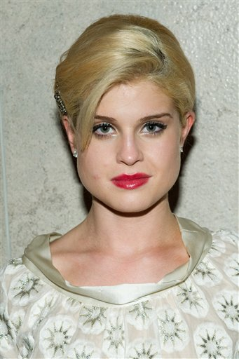 Kelly Osbourne attends the Chris Benz Spring...