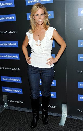 Actress Cheryl Hines attends a special screening of 'The Social Network' hosted by The Cinema Society on Wednesday, Sept. 29, 2010 in New York. (AP Photo/Evan Agostini)