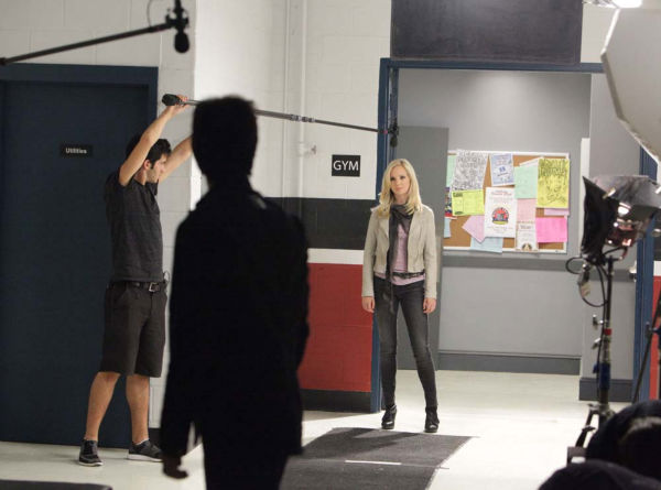 Candice Accola films &#39;The Vampire Diaries&#39; episode &#39;Brave New World&#39;, which aired on Sept. 16, 2010. <span class=meta>(Photo&#47;Quantrell D.Colbert)</span>