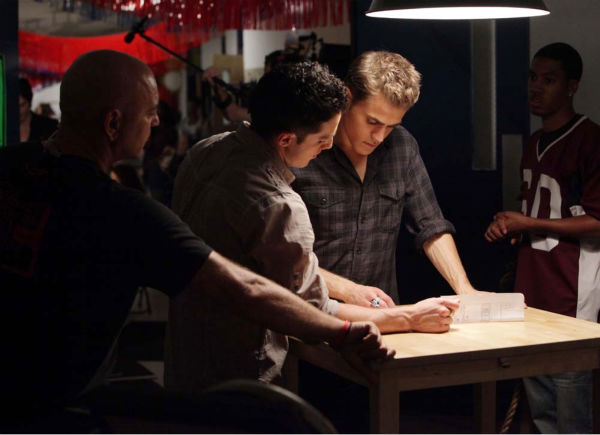 "<div class=""meta image-caption""><div class=""origin-logo origin-image ""><span></span></div><span class=""caption-text"">Paul Wesley films 'The Vampire Diaries' episode 'Brave New World', which aired on Sept. 16, 2010. (Photo/Quantrell D.Colbert)</span></div>"