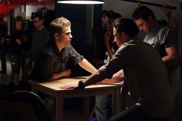 Paul Wesley films &#39;The Vampire Diaries&#39; episode &#39;Brave New World&#39;, which aired on Sept. 16, 2010. <span class=meta>(Photo&#47;Quantrell D.Colbert)</span>