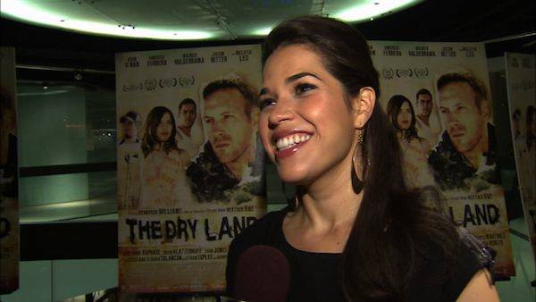 "<div class=""meta ""><span class=""caption-text "">America Ferrera of 'Ugly Betty' fame became engaged to boyfriend Ryan Piers Williams in June 2010.  Ferrera, 26, and Williams, 29 met several years ago at the University of Southern California when the Texas native cast her in his student film. (Photo courtesy of ABC)</span></div>"