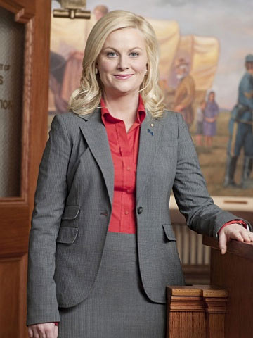 &#39;Saturday Night Live&#39; alum Amy Poehler and Will Arnett welcomed their second son, Abel James Arnett in August 2010.  Abel joins his brother, Archie who was born in October 2008. Pictured: Amy Poehler in a scene from &#39;Parks and Recreation.&#39;  <span class=meta>(Photo courtesy of Deedle-Dee Productions)</span>