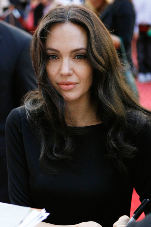 Angelina keeps her famous lips healthy with Blistex brand lip balm.