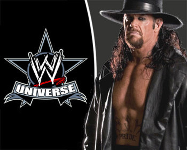 When she was a child, Angelina Jolie studied embalming and wanted to be an undertaker. Coincidentally, according to Life &amp; Style Weekly, Jolie in 2008 rented a Cedar Creek ranch in Texas that is owned by the pro wrestler while her boyfriend and children&#39;s father, Brad Pitt, filmed the movie &#39;Tree of Life&#39;. Pictured: The wrestler The Undertaker. <span class=meta>(Photo courtesy of facebook.com&#47;pages&#47;Undertaker-WWE-Universe)</span>