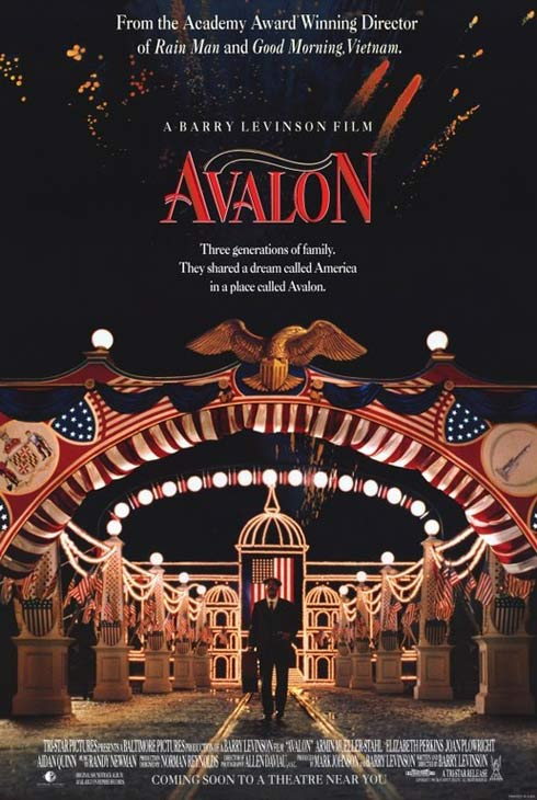 &#39;Avalon&#39; &#40;1990&#41;.  This is the story of a Polish-Jewish family that comes to the United States in the early 1900s in search of a better life.  The film highlights several Thanksgiving gatherings and how the family changes over the years. <span class=meta>(Photo courtesy of Baltimore Pictures)</span>
