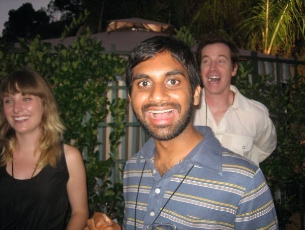 Aziz Ansari wrote on his  official Twitter page, &#39;Very sad to hear the news about Greg Giraldo. One of the most respected comics I can think of. The world has lost a hysterical man. RIP.&#39; <span class=meta>(Photo courtesy of Aziz Ansari&#39;s official Facebook page: Facebook.com&#47;azizansari)</span>