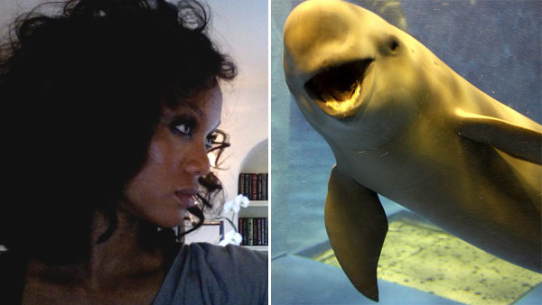 Tyra Banks is afraid of porpoises and sea mammals. In 2006, she confronted her fears on her talk show but said, &#39;The fear is not over. I&#39;ve gotten a little past it but there is something that still lives inside me.&#39; &#40;Pictured: Tyra Banks on &#39;The Tyra Banks Show&#39;&#41; <span class=meta>(twitter.com&#47;tyrabanks &#47; flickr.com&#47;photos&#47;soberch&#47;)</span>