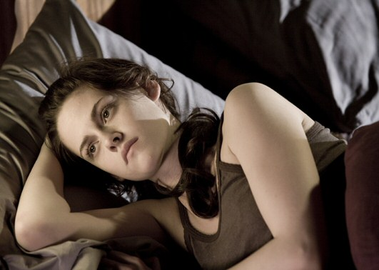 "<div class=""meta ""><span class=""caption-text "">Kristen Stewart has three dogs and a cat named Jella, which coincidentally rhymes with her 'Twilight' character Bella Swan.  (Photo courtesy of Summit Entertainment)</span></div>"