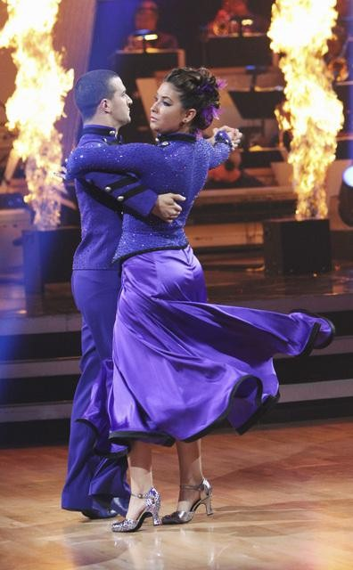 "<div class=""meta ""><span class=""caption-text "">Bristol Palin and Mark Ballas perform on 'Dancing With the Stars,' Monday, Oct. 25, 2010. The judges gave the couple 23 out of 30 for individual and 5 points for the dance marathon for a total of 28. (ABC Photo/Adam Larkey)</span></div>"