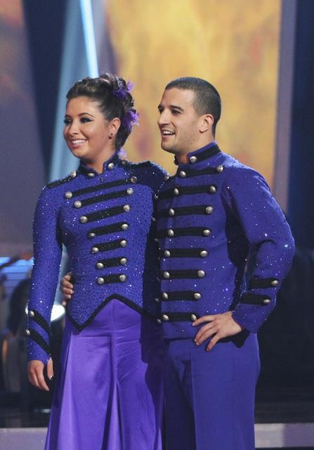 "<div class=""meta image-caption""><div class=""origin-logo origin-image ""><span></span></div><span class=""caption-text"">Bristol Palin and Mark Ballas perform on 'Dancing With the Stars,' Monday, Oct. 25, 2010. The judges gave the couple 23 out of 30 for individual and 5 points for the dance marathon for a total of 28. (ABC Photo/Adam Larkey)</span></div>"