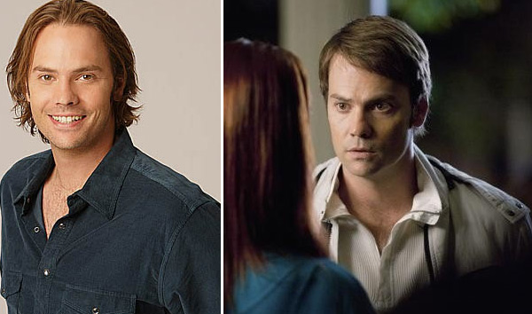 Barry Watson appears in a promotional photo for the TV show, '7th Heaven. ' / Barry Watson appears in a scene from the 2011 ABC Family movie, 'My Future Boyfriend.'