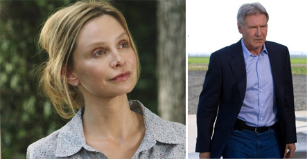 Calista Flockhart and Harrison Ford were married on June 15, 2010 in a ceremony presided over by New Mexico Governor Bill Richardson.  The two have been together for eight years and Ford, 67, proposed to Flockhart, 45, on Valentine&#39;s Day 2009. This is the third marriage for Ford and the first for Flockhart. Pictured: Calista Flockhart in a scene from &#39;Brothers &amp; Sisters&#39; and Harrison Ford in a scene from &#39;Extra Ordinary Measures.&#39; <span class=meta>(Photo courtesy of ABC and CBS Films)</span>