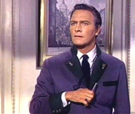 Christopher Plummer stars in a scene from 'The Sound of Music'.