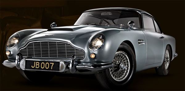 The silver 1964 Aston Martin DB5 car used by James Bond in the 007 films was sold for &#36;4.6 million at London auction in October 2010. <span class=meta>(RM Auctions &#47; rmauctions.com)</span>