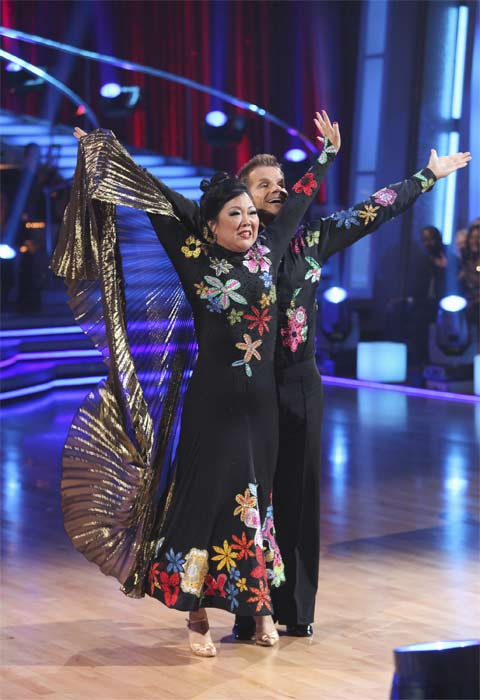 "<div class=""meta image-caption""><div class=""origin-logo origin-image ""><span></span></div><span class=""caption-text"">Comedian Margaret Cho  and Louis Van Amstel perform on 'Dancing With the Stars,' Monday, Sept.  20, 2010. The judges gave the couple 15 points out of 30. (ABC Photo/ Adam Larkey)</span></div>"