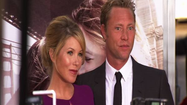 Christina Applegate and Dutch musician Martyn...