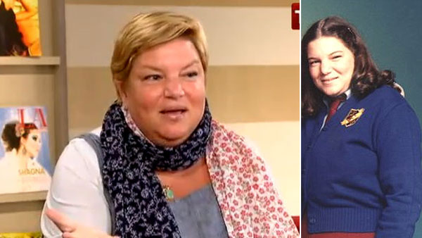 Left: Mindy Cohn appears on TLC's 'What Not to Wear' on Oct. 29, 2010. / Mindy Cohn appears in a promotional photo for the 1980's series 'The Facts of Life'.