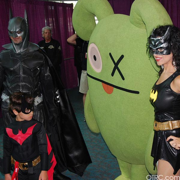The Bat family were just few of the costumes seen at Comic-Con in San Diego on Saturday July 24, 2010.