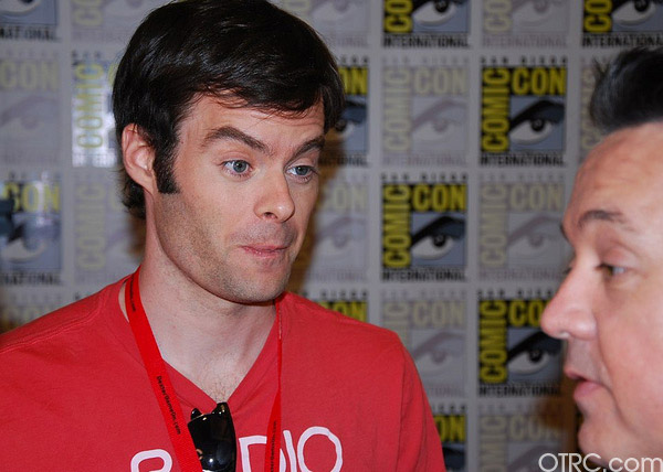 Actor Bill Hader was seen at Comic-Con in San Diego on Saturday July 24, 2010.