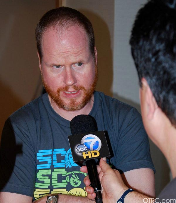 Director Joss Whedon was seen at Comic-Con in...