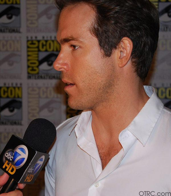 Actor Ryan Reynolds was seen at Comic-Con in San Diego on Saturday July 24, 2010.