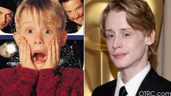 Macaulay Culkin in 'Home Alone'. / Macaulay...