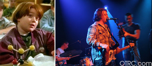 Danny Tamberelli appears in a still from 'The Adventures of Pete and Pete.' / Danny Tamberelli performs with Jounce, in a photo from his official Facebook page.