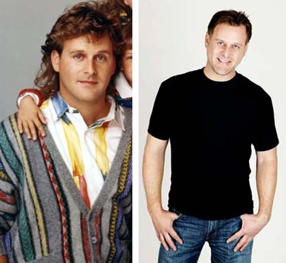 Dave Coulier in a promotional still for 'Full House.'/Dave Coulier in a promotional still from his Facebook.