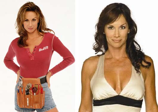 Debbe Dunning appears in a promotional photo for 'Home Improvement.' / Debbe Dunning appears in a promotional photo for 'Wicked, Wicked Games.'