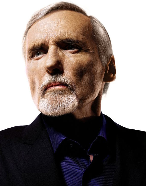 While battling prostate cancer, actor Dennis Hopper filed for divorce from his wife Victoria in January 2010.