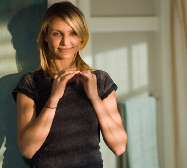 Cameron Diaz is No. 3 with &#36;32 million. During the past year, the actress has starred in films such as the animated &#39;Shrek: Forever After&#39;, &#39;My Sister&#39;s Keeper&#39; and most recently, &#39;Knight and Day&#39; with Tom Cruise. She recently filmed &#39;Bad Teacher&#39; with ex-boyfriend Justin Timberlake as well as the comic book movie &#39;The Green Hornet&#39; with Seth Rogen. <span class=meta>(Photo courtesy of Curmudgeon Films &#47; Gran Via Productions &#47; Mark Johnson Productions)</span>