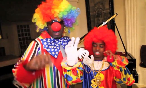 "<div class=""meta ""><span class=""caption-text "">Sean 'Diddy' Combs Tweeted this on Oct. 31, 2010: 'Halloween 2010 live from the Combs estate!!!! Straight Clownin!!!!' (twitter.com/iamdiddy)</span></div>"