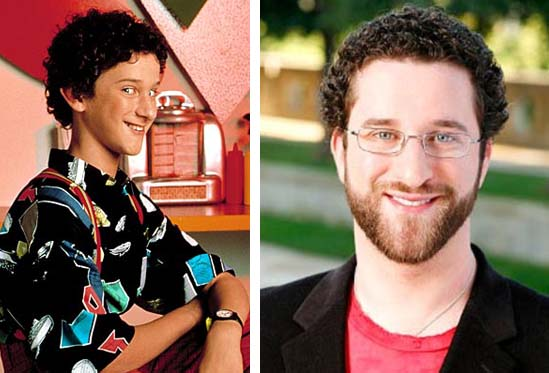 Dustin Diamond in a promotional still for 'Saved by the Bell.'/Dustin Diamond in a promotional still for 'Celebrity Fit Club.'