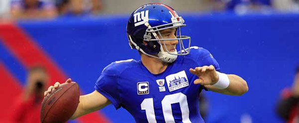It was reported in October 2010 that Giants quarterback Eli Manni