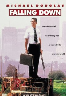 'Falling Down' (1993): Michael Douglas played an angry man who battles his major grievances with the city o