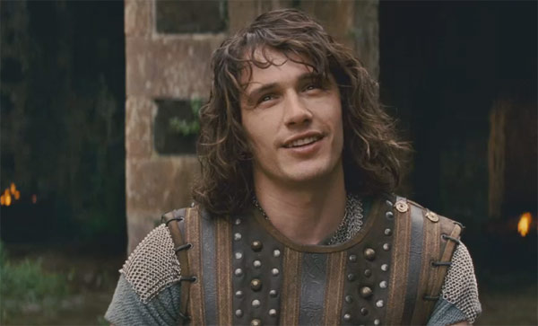 James Franco plays the prince Fabious in the 2011 fantasy comedy movie, 'Your Highness.'