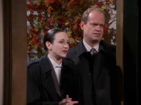 "<div class=""meta ""><span class=""caption-text "">'Frasier' - 'A Lilith Thanksgiving': Frasier, Niles and Martin fly to Boston for Thanksgiving, where Frasier and Lilith go to an interview with the principal of an exclusive boarding school for their son. (Photo courtesy of Grub Street Productions)</span></div>"