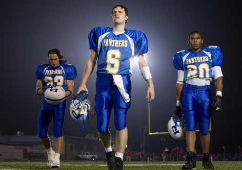 "<div class=""meta image-caption""><div class=""origin-logo origin-image ""><span></span></div><span class=""caption-text"">Wednesday, Jan. 5, 2011: 'Friday Night Lights' - If you have DirecTV, you can watch this football-oriented drama series when it returns for a sixth and final season, airing on channel 101 at 9 p.m. ET. (Pictured: Taylor Kitsch, Gaius Charles and Scott Porter appear in a scene from 'Friday Night Lights.') (DirecTV)</span></div>"