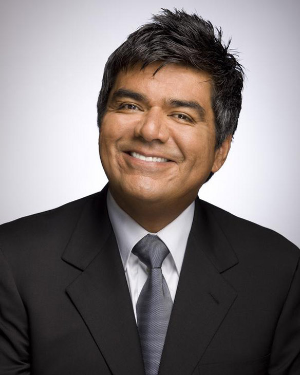 George Lopez appears in a photo from his MySpace page.