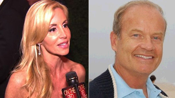 (Pictured: Camille Grammer speaks to OnTheRedCarpet.com about 'The Real Housewives of Beverly Hills' on Oct. 11, 2010. / Kelsey Grammer appears in a photo posted on his Twitter page.)