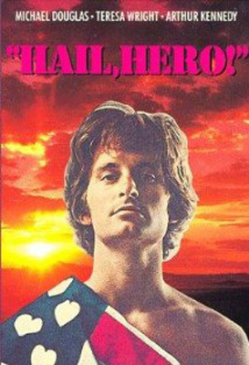 'Hail, Hero!' (1969): Michael Douglas played college student Carl Dixon, who joined the Army and expected to use love instead of bullet