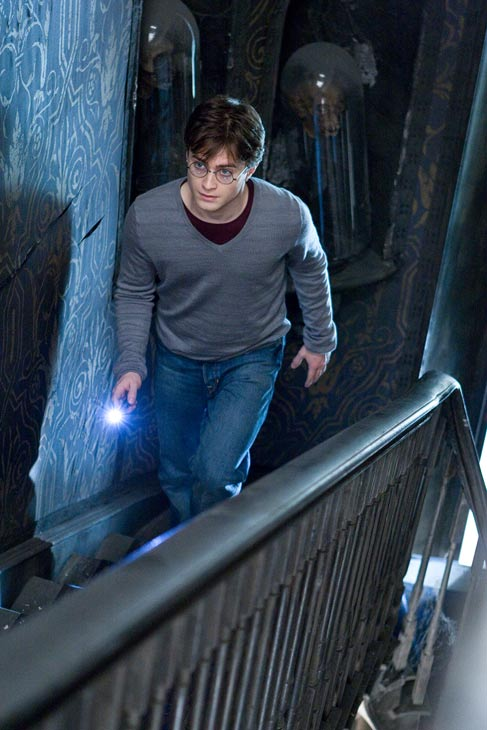 Harry Potter (Daniel Radcliffe) appears in a...