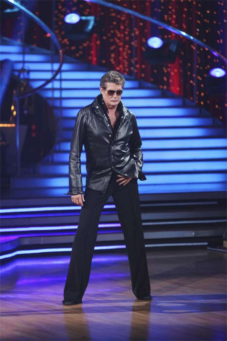 David Hasselhoff and Kym Johnson perform on &#39;Dancing With the Stars,&#39; Monday, Sept.  20, 2010. The judges gave the couple 15 points out of 30. <span class=meta>(ABC Photo&#47; Adam Larkey)</span>