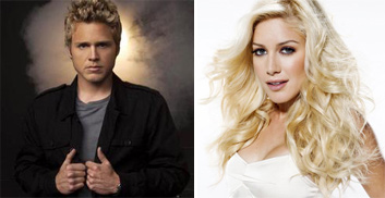 &#39;The Hills&#39; reality stars, Spencer Pratt and Heidi Montag publicly announced their separation and divorce in August 2010.  Montag and Pratt, who have broken up and gotten back together numerous times, on and off-camera, have often been said to have staged publicity stunts.  In September 2010, Montag called off her divorce from Pratt after the pair reconciled following a recent trip to Costa Rica. <span class=meta>(Photos courtesy of twitter.com&#47;spencerpratt and facebook.com&#47;heidimontag)</span>