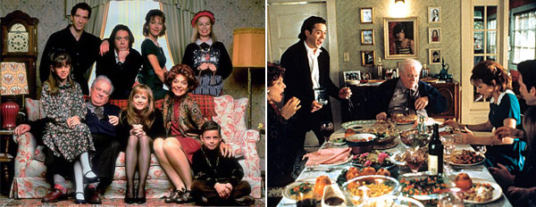 This comedy film was Jodie Foster&#39;s directorial debut and featured Holly Hunter, Robert Downing Jr., Claire Danes and Ann Bancroft. Let&#39;s face it, Thanksgiving dinner with the family can be a nightmare, but also side-splittingly funny. <span class=meta>(Photo courtesy of Paramount Pictures)</span>