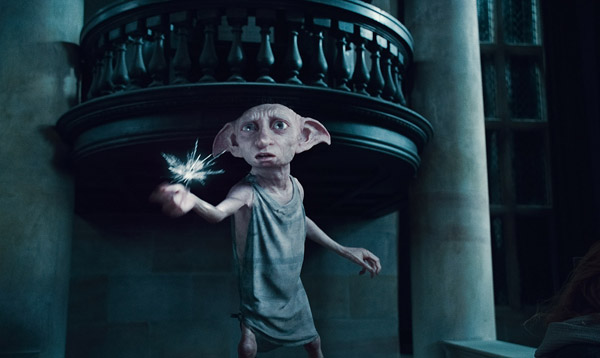 Dobby the house elf appears in a scene from...