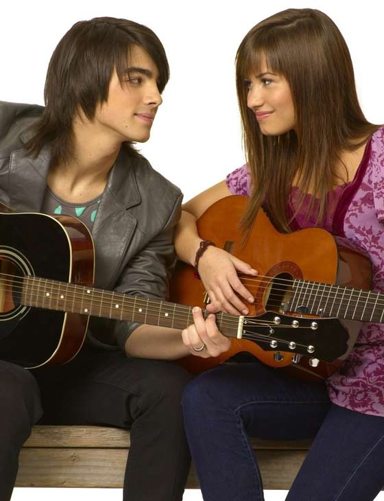 Disney stars, Joe Jonas and Demi Lovato broke up in May 2010 after confirming in March that they were dating.  The pair planned to remain friends after the break up. They met while filming the first &#39;Camp Rock&#39; film in 2007. <span class=meta>(Photo courtesy of Disney Channel)</span>