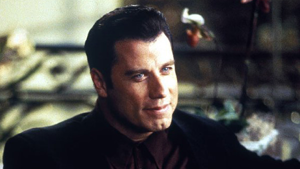 John Travolta appears in a still from 'Get...