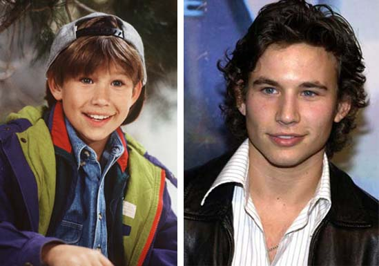 Promotional still of Jonathan Taylor Thomas for 'Home Improvement.' / Jonathan Taylor Thomas at the premiere of 'The Fast and the Furious: Tokyo Drift.'